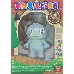 Pokemon 2020 Bandai Pokemofu Doll Vol. 5 Sobble Figure #4