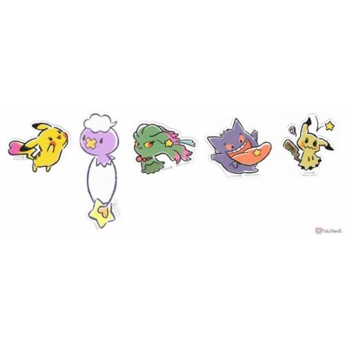Pokemon 2020 Gengar Love Its Demo Star Hunt Set Of 5 Stickers