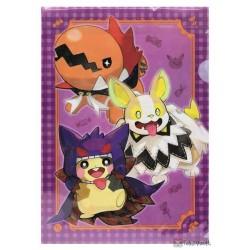Pokemon Center 2020 Yamper Halloween Galar Garden Set Of 3 File Folders