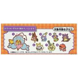 Pokemon Center 2020 Scorbunny Halloween Galar Garden Rubber Strap #2