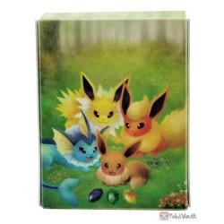 Pokemon Center 2020 Vaporeon Flareon Jolteon Eevee Card Deck Box Holder
