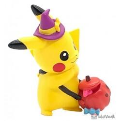 Pokemon 2020 Pikachu Takara Tomy Waku Waku Halloween Mascot Figure #2 (Red Pumpkin)
