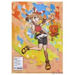 Pokemon Center 2020 Erika May Serena Trainers #2 Set Of 3 File Folders