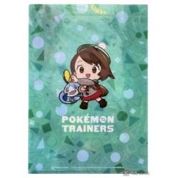 Pokemon Center 2020 Gloria Bea Nessa Pokemon Trainers #2 Set Of 3 File Folders