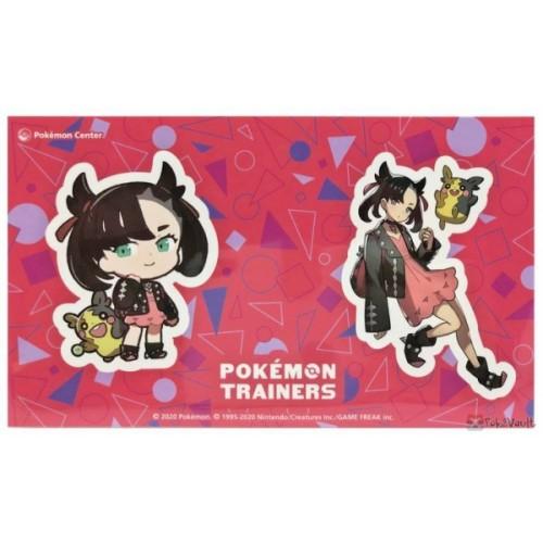 Pokemon Center 2020 Marnie Morpeko Pokemon Trainers #2 Set Of 2 Stickers