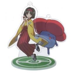 Pokemon Center 2020 Erika Vileplume Pokemon Trainers #2 Keychain Stand