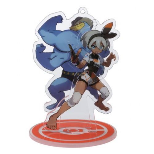Pokemon Center 2020 Bea Machamp Pokemon Trainers #2 Keychain Stand