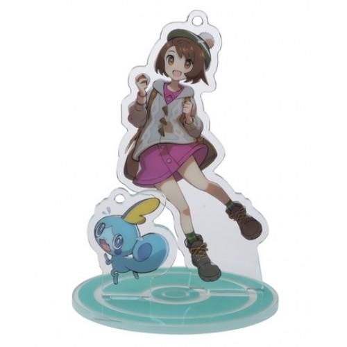 Pokemon Center 2020 Gloria Sobble Pokemon Trainers #2 Keychain Stand