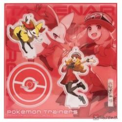 Pokemon Center 2020 Serena Fennekin Pokemon Trainers #2 Keychain Stand