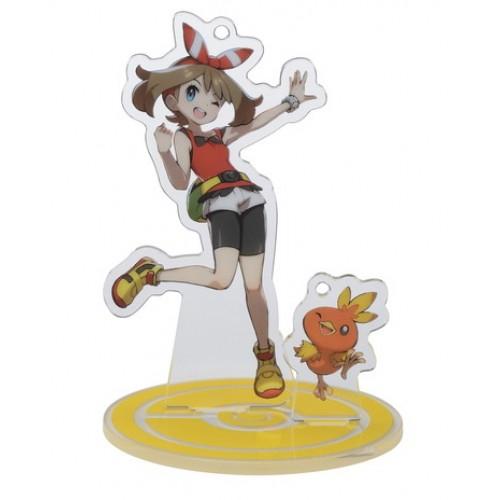 Pokemon Center 2020 May Torchic Pokemon Trainers #2 Keychain Stand