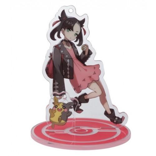 Pokemon Center 2020 Marnie Morpeko Pokemon Trainers #2 Keychain Stand