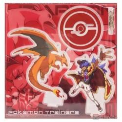 Pokemon Center 2020 Leon Charizard Pokemon Trainers #2 Keychain Stand