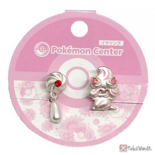 Pokemon Center 2020 Alcremie Set Of 2 Clip On Earrings
