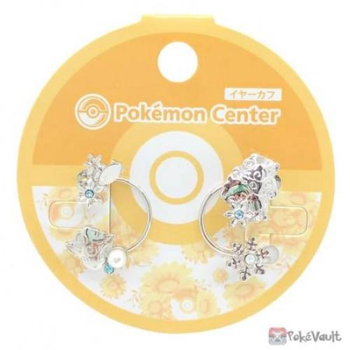 Pokemon Center 2020 Alolan Vulpix Set Of 2 Clip On Ear Cuffs