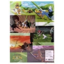 Pokemon Center 2020 Farfetch'd Tale 3 Leek Squad Set Of 2 File Folders