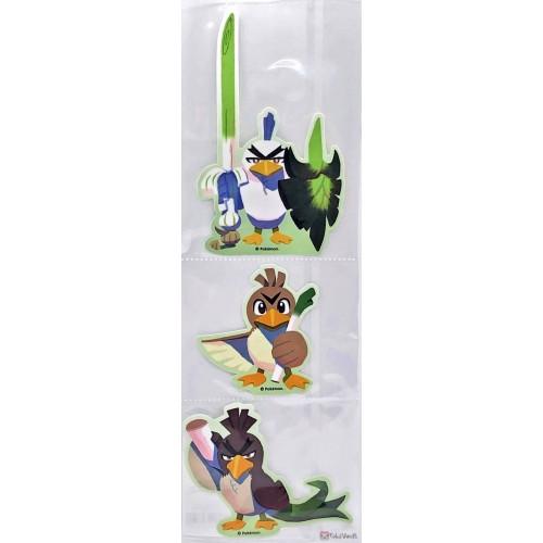 Pokemon Center 2020 Farfetch'd Tale 3 Leek Squad Set 3 Stickers