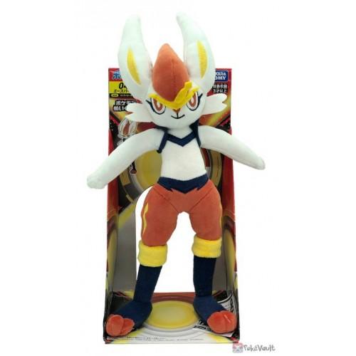 Pokemon 2020 Cinderace Takara Tomy Plush Toy