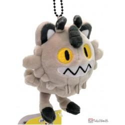 Pokemon Center 2020 Galarian Meowth Pokedoll Mocchiri Mascot Plush Keychain