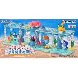 Pokemon 2020 Popplio Pikachu Re-Ment Sparkling Sea Series #1 Figure