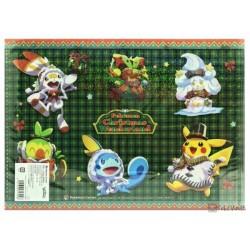 Pokemon Center 2020 Pikachu Christmas Wonderland File Folder