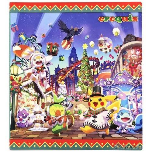 Pokemon Center 2020 Scorbunny Sobble Christmas Wonderland Sketch Book
