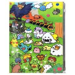 Pokemon Center 2020 Wooloo Galarian Ponyta Yurutto #3 File Folder