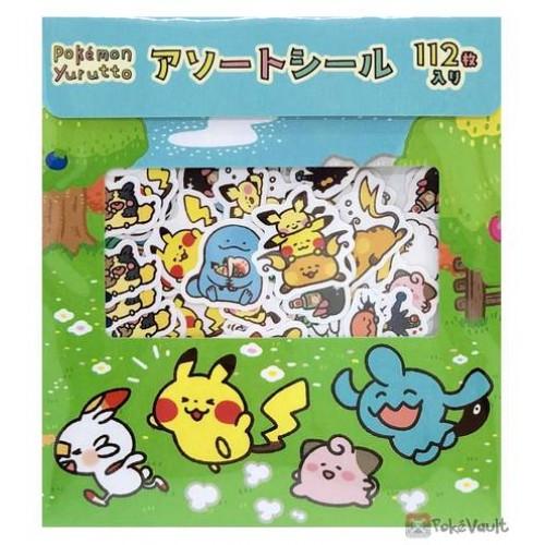 Pokemon Center 2020  Wooloo Galarian Ponyta Yurutto #3 Set Of 112 Stickers