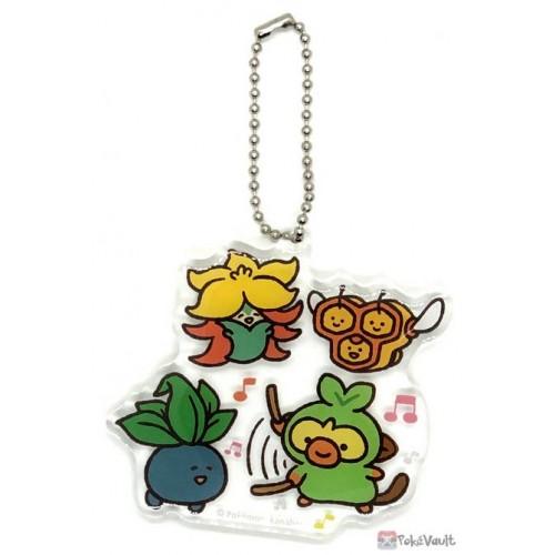 Pokemon Center 2020 Gossifleur Combee Oddish Grookey Yurutto #3 Acrylic Keychain #5