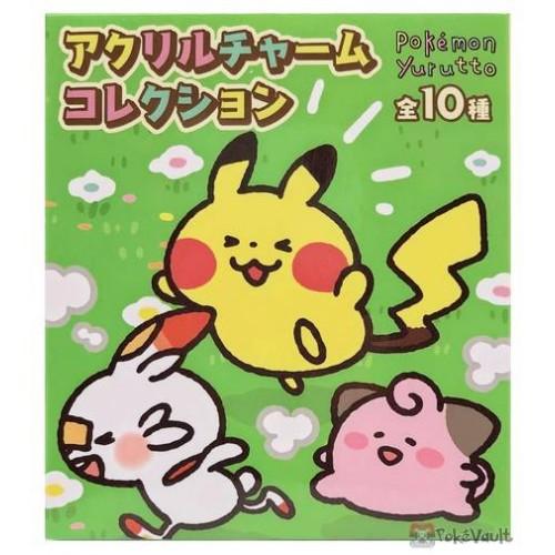 Pokemon Center 2020 RANDOM Yurutto #3 Acrylic Keychain