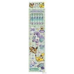 Pokemon Center 2020 Galarian Ponyta Eevee Alcremie Set of 12 Pencils
