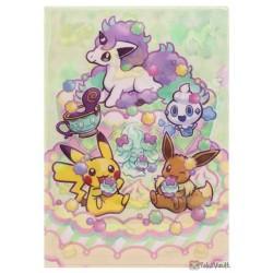 Pokemon Center 2020 Galarian Ponyta Eevee Alcremie File Folder