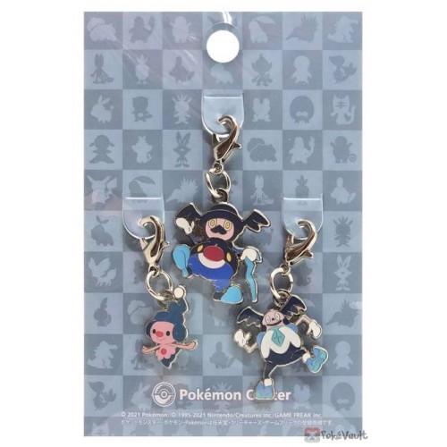 Pokemon Center 2021 Mime Jr. Galarian Mr. Mime Rime Set Of 3 Metal Charms