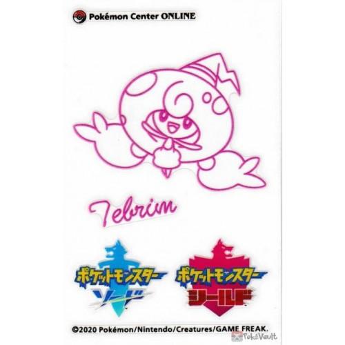 Pokemon Center Online 2020 Hattrem Sword & Shield Sticker