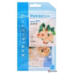 Pokemon 2021 Leafeon Nano Block Figure