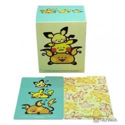 Pokemon Center 2021 Raichu Pikachu Pichu Yurutto Card Deck Box Holder