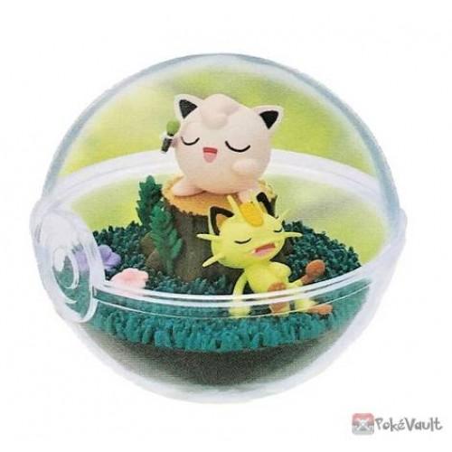 Pokemon 2021 Jigglypuff Meowth Re-Ment Terrarium Series #9 Figure