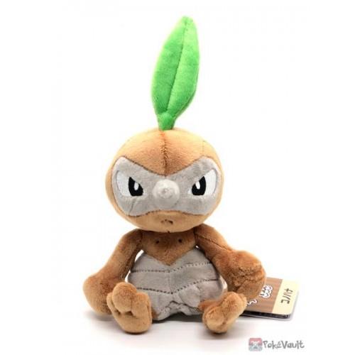 Pokemon Center 2021 Nuzleaf Pokemon Fit Series #4 Small Plush Toy