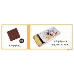 Pokemon 2021 Eeveelution Box Of Chocolate With Souvenir Metal Storage Can