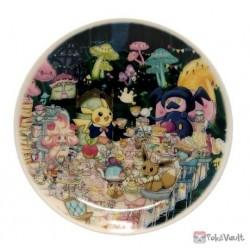 Pokemon Center 2021 Alcremie Pikachu Mysterious Tea Party Small Ceramic Plate