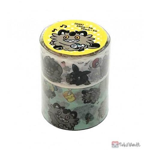 Pokemon Center 2021 Espurr Galarian Meowth Day Washi Masking Tape