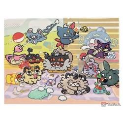 Pokemon Center 2021 Skitty Glameow Galarian Meowth Day Post It Notes