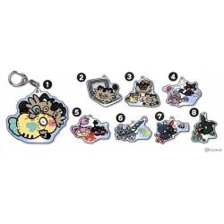 Pokemon Center 2021 Glameow Rattata Galarian Meowth Day Keychain #6