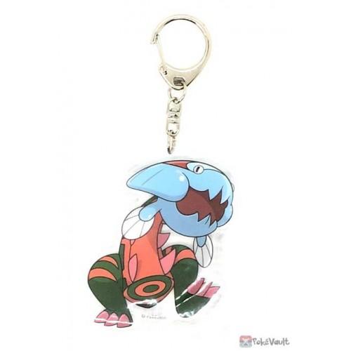 Pokemon Center 2021 Dracovish Acrylic Plastic Keychain