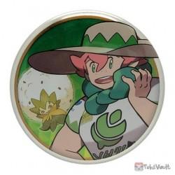 Pokemon Center 2020 Milo Eldegoss Galar Button Collection Large Size Metal Button