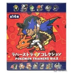 Pokemon Center 2020 Leon Charizard Pokemon Trainers #2 Rubber Strap