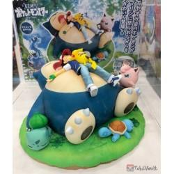 Pokemon 2021 Snorlax Ash Ketchum Pikachu Jigglypuff G.E.M. Figure