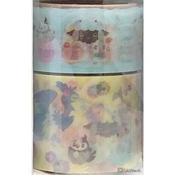 Pokemon Center 2021 Wooloo Easter Set Of 2 Washi Masking Tape