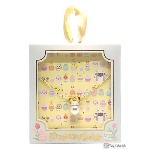 Pokemon Center 2021 Pikachu Easter Pendant Necklace