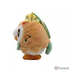 Pokemon Center 2021 Rowlet Easter Mascot Plush Keychain