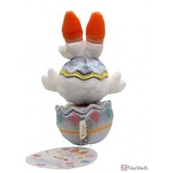 Pokemon Center 2021 Scorbunny Easter Plush Toy